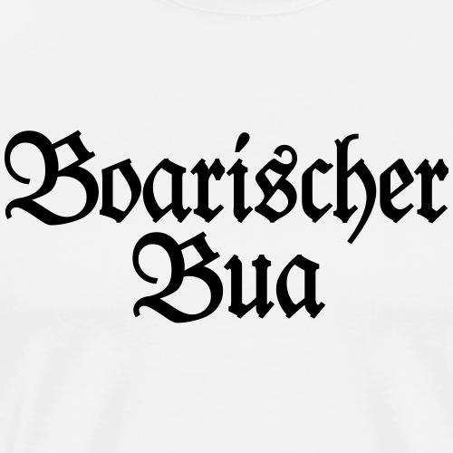 Boarischer Bua - Ein Junge aus Bayern - Männer Premium T-Shirt