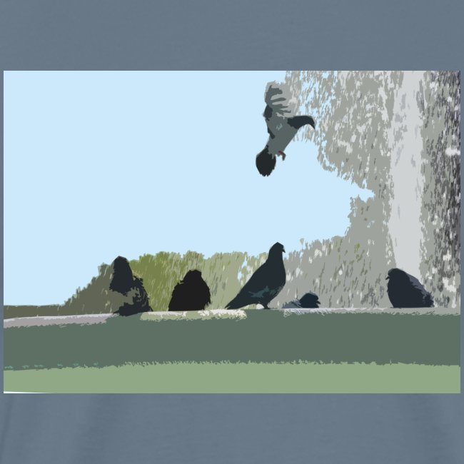 Chillin' pigeons