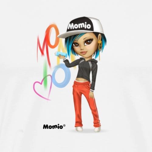 Maya - kirjoittanut Momio Designer Cat9999 - Miesten premium t-paita