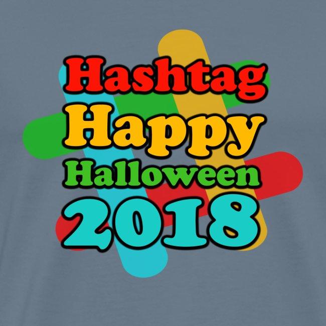 hashtag happy halloween 2018