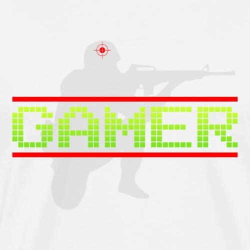 Het Ideale Cadeau Voor de Echte Gamer! - Mannen Premium T-shirt