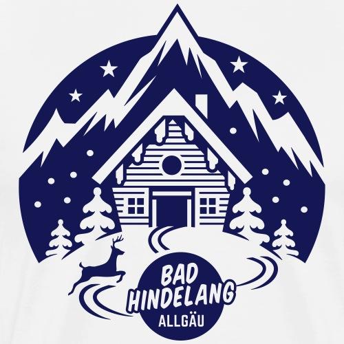 Bad Hindelang, Allgäu - Männer Premium T-Shirt