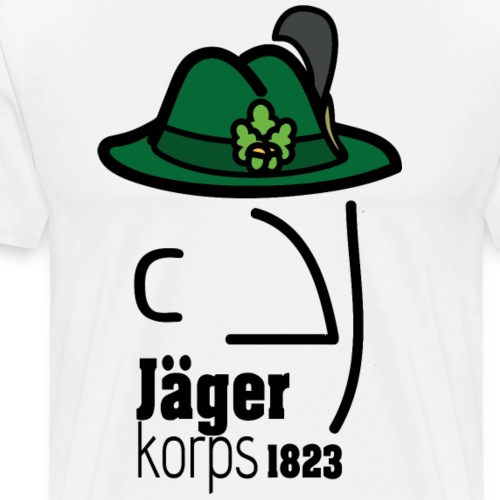 Jägerkorps - Männer Premium T-Shirt