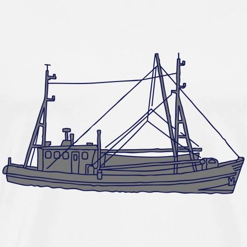 Fischerboot 2 - Männer Premium T-Shirt