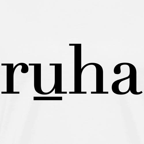 Ruha - Mannen Premium T-shirt