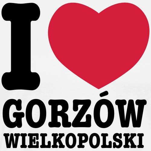 Kocham Gorzow Wielkopolski Koszulka - Koszulka męska Premium
