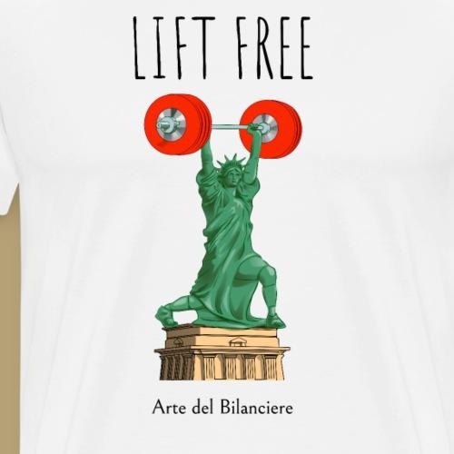 liberty lift - Maglietta Premium da uomo