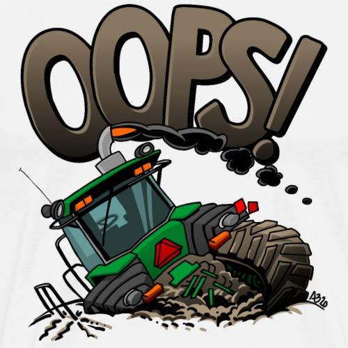 0921 JD stuck oops - Mannen Premium T-shirt