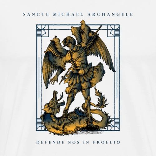 Sancte Michael Archangele defende nos in proelio - Maglietta Premium da uomo