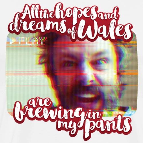 Michael Sheen Wales Pants - Men's Premium T-Shirt
