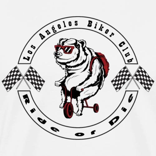 Bear biker - T-shirt Premium Homme