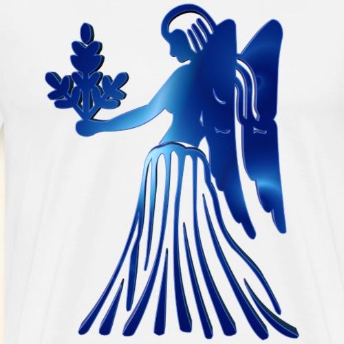 Zodiac Virgo The Maiden 23 August – 22 September - Men's Premium T-Shirt