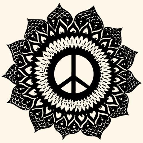 Peace Mandala - Männer Premium T-Shirt