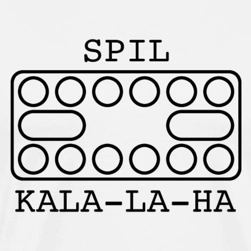 Spil kala-la-ha - Herre premium T-shirt