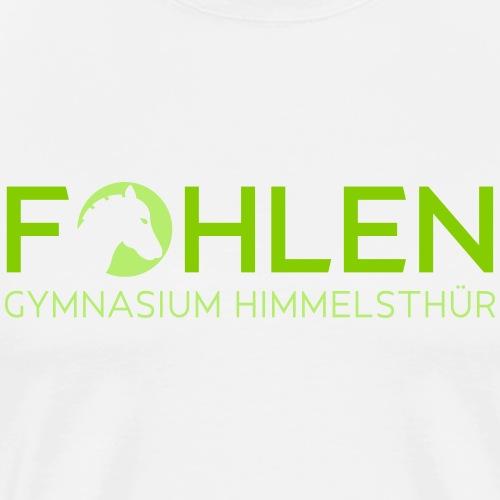 Fohlen Silhouette - Männer Premium T-Shirt