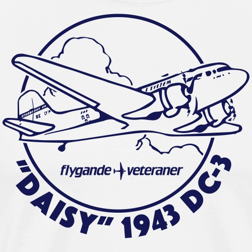 Daisy Clouds 1 - Premium-T-shirt herr