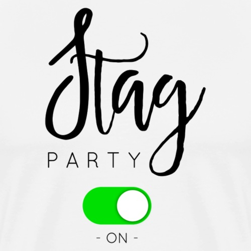 STAG PARTY - T-shirt Premium Homme