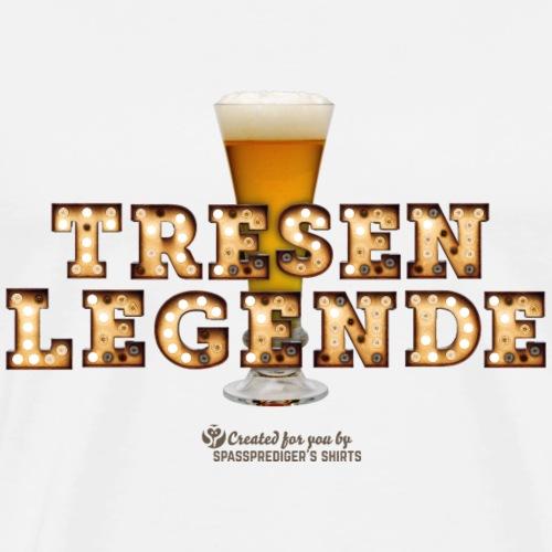 Mallorca Bier Spruch Tresenlegende - Männer Premium T-Shirt