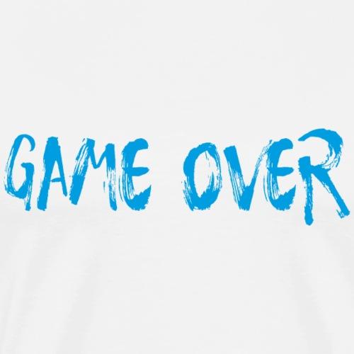 Game Over Nerd Gamer Shirt Geschenk - Männer Premium T-Shirt