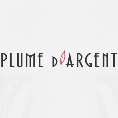 Logo - Texte noir - T-shirt Premium Homme