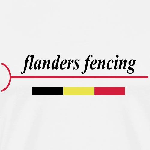 Flanders Fencing BE - Mannen Premium T-shirt