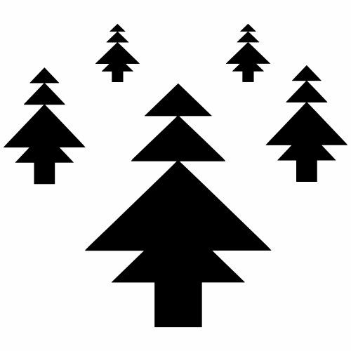 Les arbres de Noël