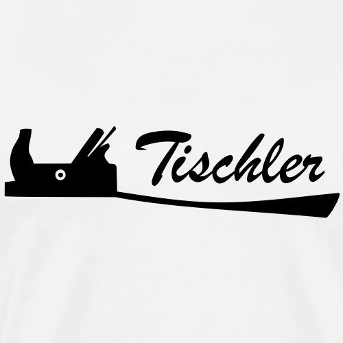 Tischler Hobel 15 Schreiner Werkzeug - Männer Premium T-Shirt