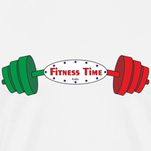 Fitness Time 17° anno - Maglietta Premium da uomo