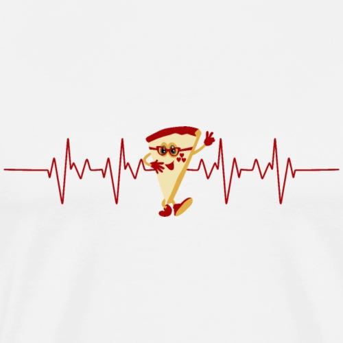 Amante della pizza - Maglietta Premium da uomo