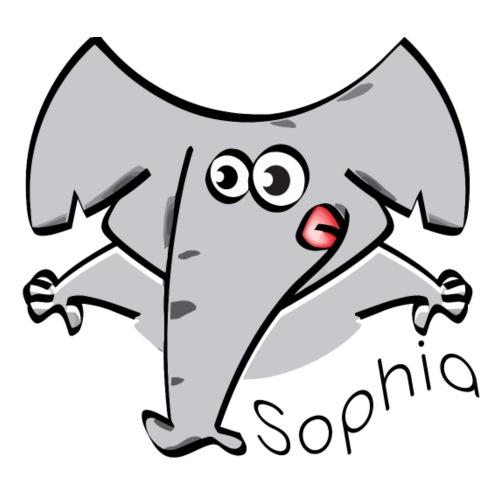 Charlie`s Kids Fashion Elephant Sophia - Men's Premium T-Shirt