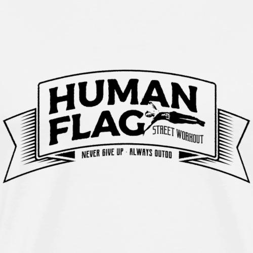 HumanFlag Black