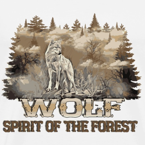 Spirit of the forest - T-shirt Premium Homme