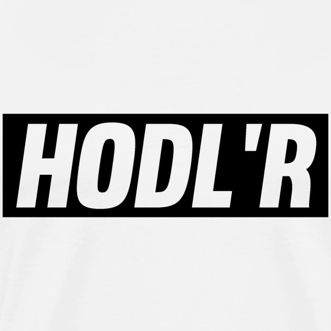 HODL'R - For the real crypto fans
