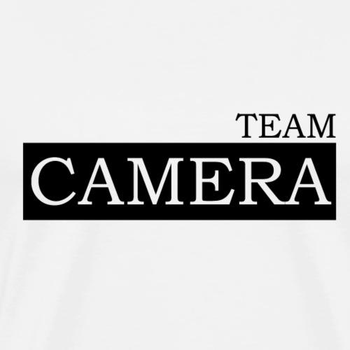 Team Camera black - Männer Premium T-Shirt