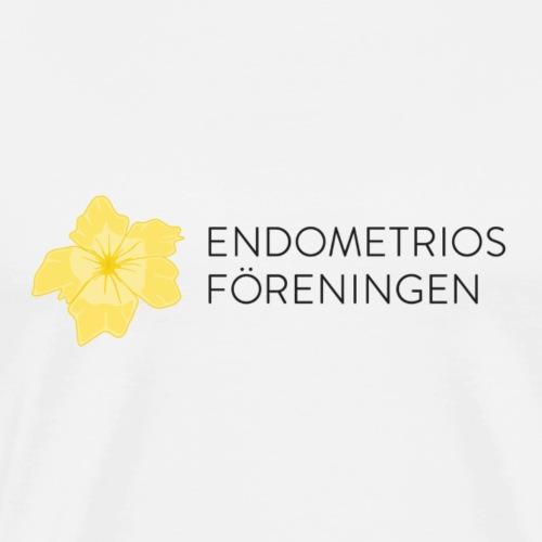 Endometriosföreningens logga - Premium-T-shirt herr