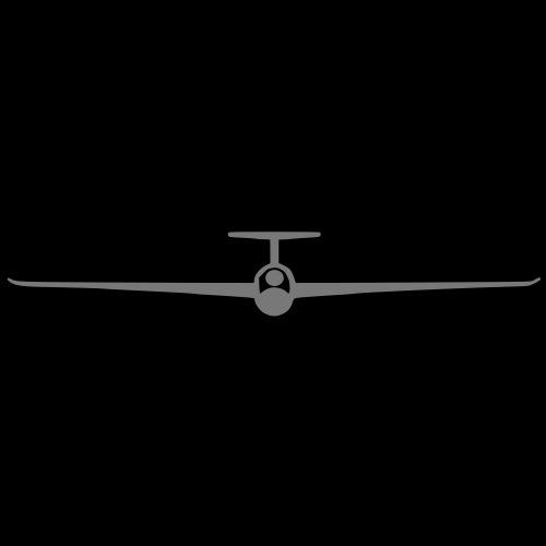 segelflugzeug_piktogramm - Männer Premium T-Shirt
