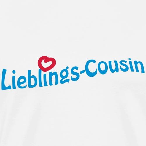 Lieblings-Cousin - Männer Premium T-Shirt