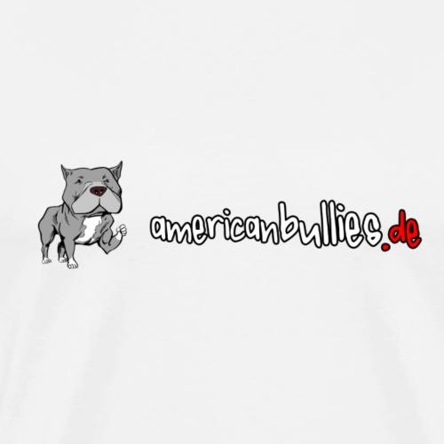 AmericanBullies de Logo - Männer Premium T-Shirt