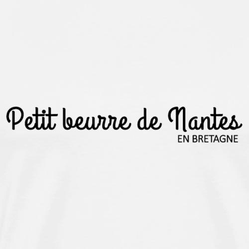 Bretagne - Petit beurre de Nantes - T-shirt Premium Homme