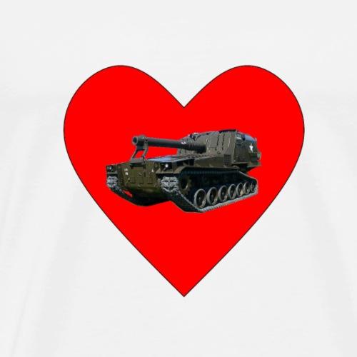 Heart M55 - Men's Premium T-Shirt