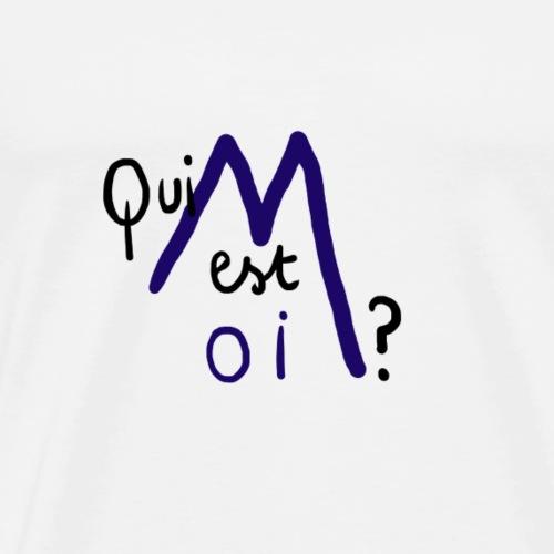 Qui est moi ? - T-shirt Premium Homme