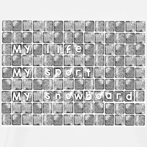 My life - Koszulka męska Premium