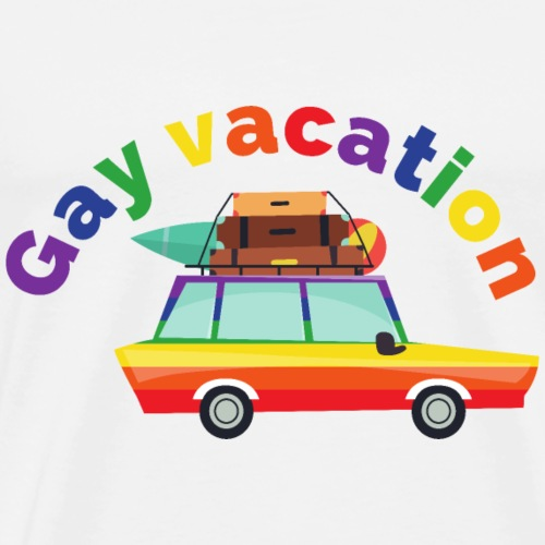 Gay Vacation | LGBT | Pride - Männer Premium T-Shirt