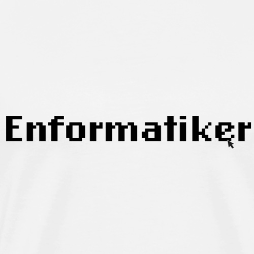Enformatiker- Cursor - Männer Premium T-Shirt