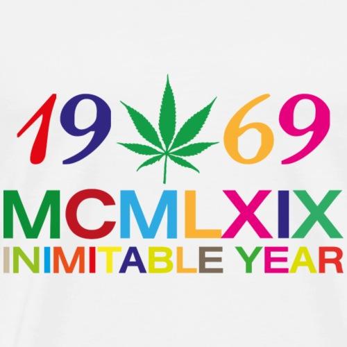 Pop Anno Inimitabile - Maglietta Premium da uomo