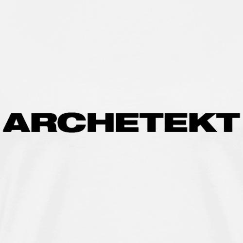 Archetekt - Männer Premium T-Shirt
