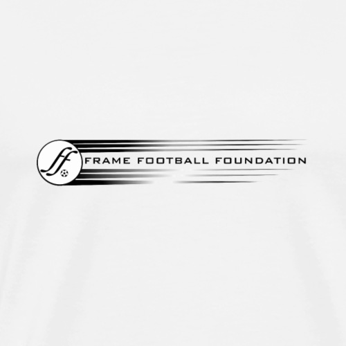 Flying Wheel Frame Football - Men's Premium T-Shirt