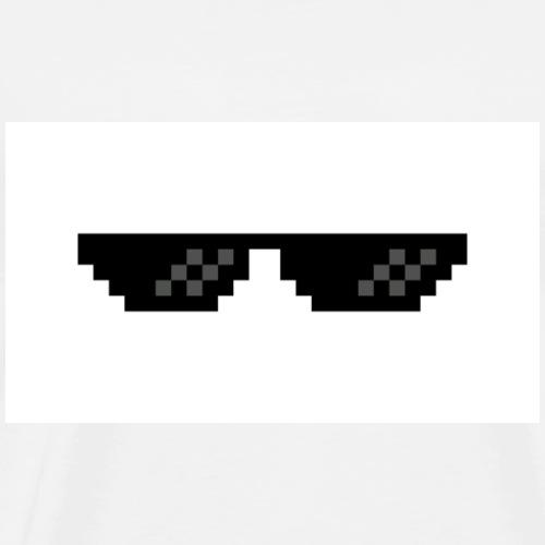 glasses - T-shirt Premium Homme