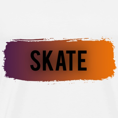 skate brush - Mannen Premium T-shirt