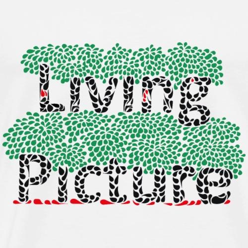 Living picture - Mannen Premium T-shirt